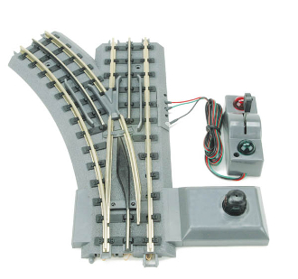 MTH40-1005 Real Trax Automatic Left Hand Switch O'31