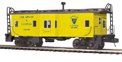 MTH20-91365 Delaware & Hudson Bay Window Caboose