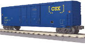 MTH30-74768 CSX 50' Double Door Plugged Box Car