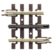 "ATO 6052 O 1 3/4"" Straight Track (4 Pack)"