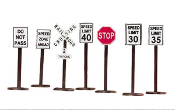 MTH30-1087 Road Sign Set