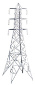 MTH30-1056 High Tension Tower Set (3)