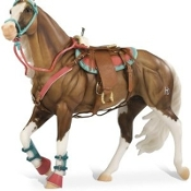 BRY 2042 Western Riding Set--Hot Colors