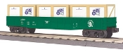 MTH30-72051 Rolling Rock Gondola with Crates
