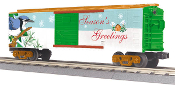 MTH30-74693 Seasons Greetings Box Car