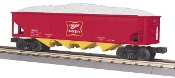 MTH30-75339 Miller 4 Bay Hopper with Load