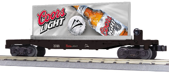 MTH30-76281 Coors Flat Car with Billboard