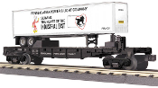 MTH30-76464 Pennsylvania Power & Light Flat with Trailer