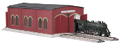 MTH30-90083 Pennsylvania Double Engine Shed (Lighted)