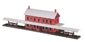 MTH30-9014 Passenger Station with Platforms (Lighted)