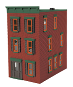 MTH30-90374 3 Story Town House (Lighted)