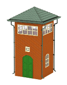 MTH30-90434 Trackside Yard Tower