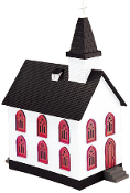 MTH30-9057 Country Church (Lighted)