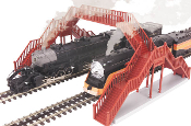 MTH30-9066 O Scale Pedestrian 2 Track Crossover