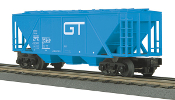 MTH33-7511 Grand Trunk Western 3 Bay Covered Hopper