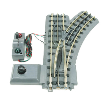 MTH40-1004 Real Trax Automatic Right Hand Switch O'31