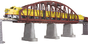 MTH40-1103 Steel Arch Bridge (Rust) with Blinking Light