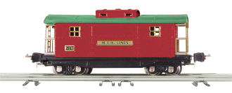 MTH10-8005 2800 Series Red Caboose
