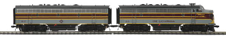 MTH80-2123-1 Erie Lackawanna F-7 A/B Diesel with Proto 3.0