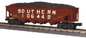 MTH30-74538 Southern 4 Bay Hopper with Coal