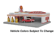 MTH30-9182 Shell Operating Gas Station