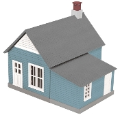 MTH30-90252 Blue Work House
