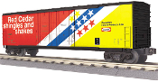 MTH30-74627 Canadian Forest 50' Double Door Plugged Box Car