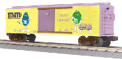 MTH30-74641 M&M's Easter Box Car