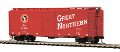 MTH85-74131 Great Northern 40' PS-1 Box Car