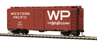 MTH85-74134 Western Pacific 40' PS-1 Box Car