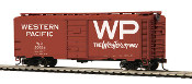 MTH85-74135 Western Pacific 40' PS-1 Box Car