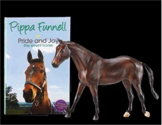 BRY 1713 Pippa Funnell's Primmore's Pride and Joy with Book