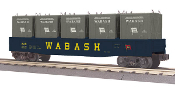 MTH30-72127 Wabash Gondola with LCL Containers