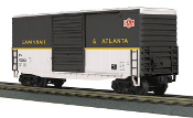 MTH30-74737 Savannah & Atlanta 40' High Cube Box Car