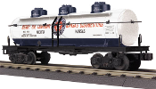 MTH30-73420 Derby Oil Company 3 Dome Tank Car