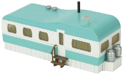 MTH30-90531 Turquoise Mobile Home