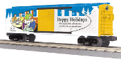 MTH30-74824 Happy Hollidays Box Car