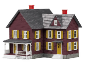 MTH30-90253 Red Farm House