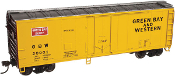ATL 20002737 Green Bay & Western 40' Box Car (#20001)
