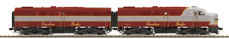 MTH80-2206-1 Canadian Pacific Alco FA-1 AB with Proto 3.0