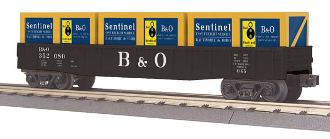 MTH30-72150 Baltimore & Ohio Gondola with Crates