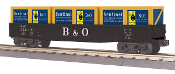 MTH30-72150 Baltimore and Ohio Gondola Car with Crates