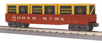 MTH30-72157 Canadian National Gondola with Crates