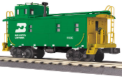 MTH30-77281 Burlington Northern Offset Steel Caboose