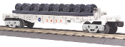 MTH30-76620 NASA Flat Car with Wheel Sets