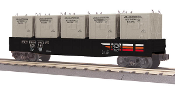 MTH30-72126 Southern Pacific Gondola with Containers