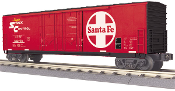 MTH30-74773 Santa Fe 50' Double Door Plugged Box Car