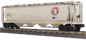 MTH30-75490 Great Northern 4 Bay Cylindrical Hopper