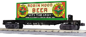 MTH30-76569 Robin Hood Beer Flat Car with Billboard