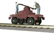 MTH30-2574 Pennsylvania Operating Hand Car